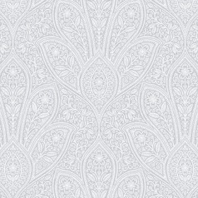 FH37549 Distressed Paisley Wallpaper