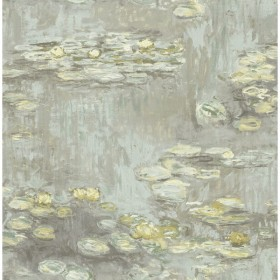 FI71507 Water Lilies Wallpaper