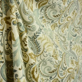 Findlay Seaglass Scroll Floral Swavelle Fabric