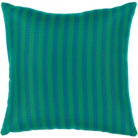 Finn Pillow in Teal and Emerald/Kelly Green | FN003-2020