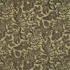 Gauguin Garden Antique Brass Kasmir Fabric