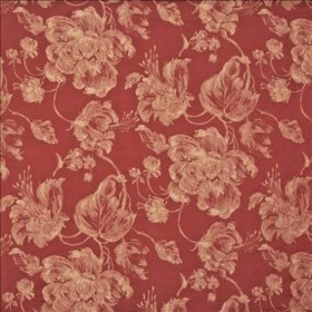 Giverny Coral Kasmir Fabric