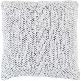 Classic Cable Knit Grey Pillow   GN001-1818D