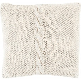Classic Cable Knit Grey Pillow | GN004-2020P