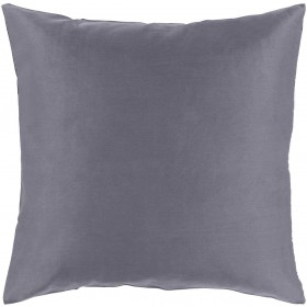 Griffin Pillow with Down Fill in Charcoal | GR002-2020D