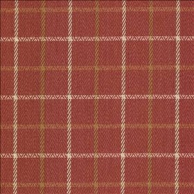 Greenway Plaid Red Pepper Kasmir Fabric