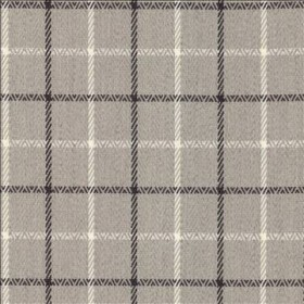 Greenway Plaid Stone Kasmir Fabric