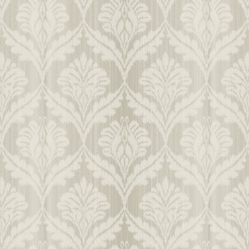 GX8164 Light Taupe Grey Stria Damask Wallpaper