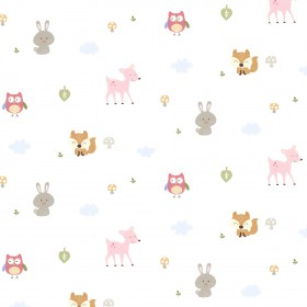 Ceci Pink Country Club Wallpaper