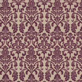 Hotel A - Plum Europatex Fabric