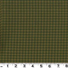 Houndstooth Olive Fabric