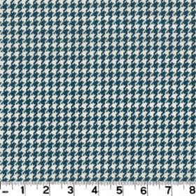 Houndstooth Navy Fabric