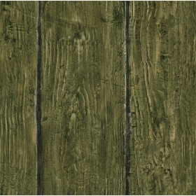 Rodeo Green Outhouse Wood Wall Wallpaper