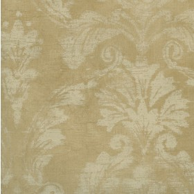 Paula Neutral Torch Damask Wallpaper