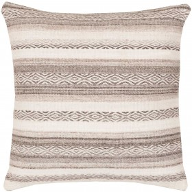 Tender Tribal Grey, Tan Pillow | IB002-3030P