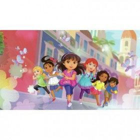 Murals Dora and Friends Pre-Pasted Mural
