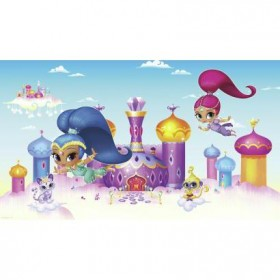 Murals Shimmer and Shine Pre-Pasted Mural