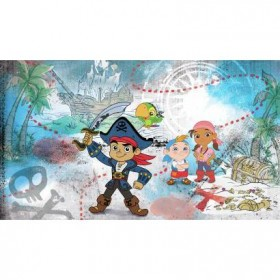 Murals Captain Jake and the Neverland Pirates Pre-Pasted Mural