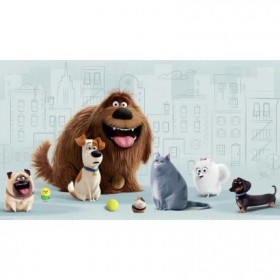Murals The Secret Life of Pets Pre-Pasted Mural