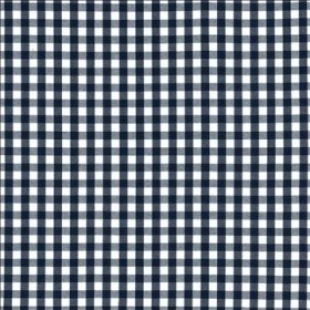 Junction Plaid Navy Kasmir Fabric