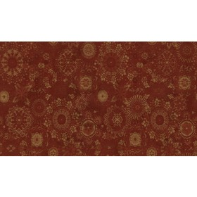 Kaleidoscope 17 Claret Fabric