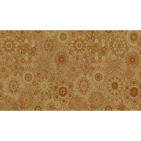 Kaleidoscope 44 Orange Fabric