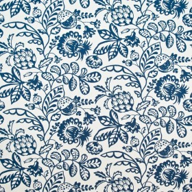 Kapiolani Blueberry Kasmir Fabric