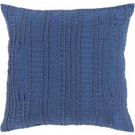 Keaton Pillow with Poly Fill in Cobalt | KN003-1818P