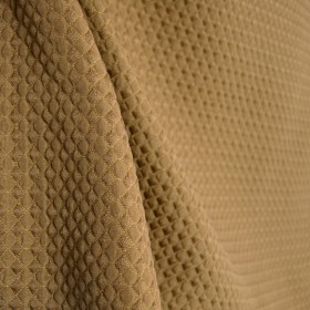 Linton Suede Bronze Gold Diamond Texture Matelasse Upholstery Fabric