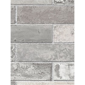 LL29533 Faux Grey Brick Wallpaper