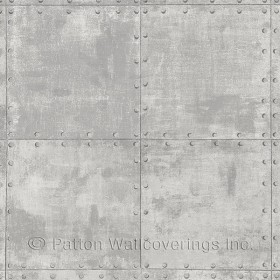LL36226 Steel Tile Wallpaper