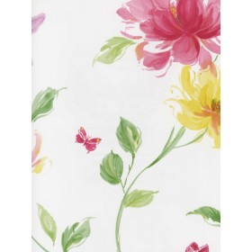 LS70101 Floral Insects Wallpaper