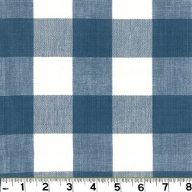 Lyme French Blue Fabric