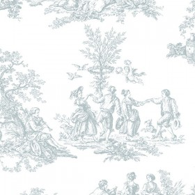 MH36500 Romantic Toile Wallpaper