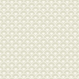 MK1158 Stacked Scallops Beige Wallpaper