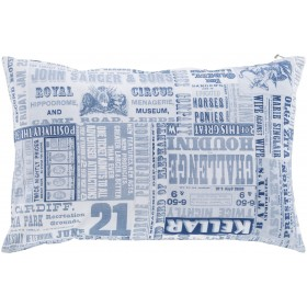 Mind Games Pillow with Poly Fill in Cobalt | MNG004-2222P