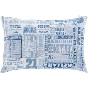 Mind Games Pillow with Poly Fill in Cobalt | MNG004-1320P