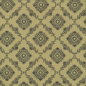 Mosler Trellis Coffee Kasmir Fabric