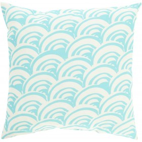 Abel James Blue, Tan Pillow | MZ010-2020