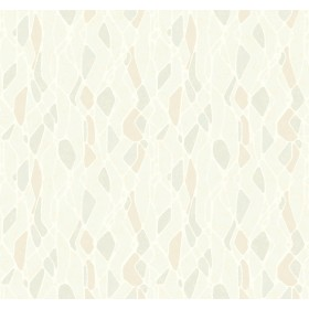 NA0508 Beige Stained Glass Wallpaper