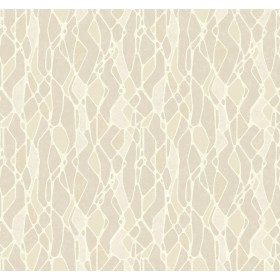 NA0509 Taupe Stained Glass Wallpaper
