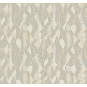 NA0510 Grey Stained Glass Wallpaper