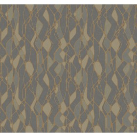 NA0511 Dark Grey Stained Glass Wallpaper