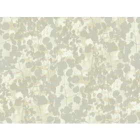 NA0518 Silver Pressed Leaves Wallpaper