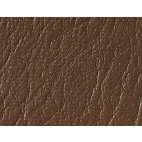 Nauga-Leather Angus Brown Burch Fabric