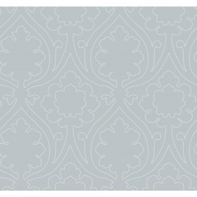 Candice Olson Inspired Elegance Idyll Grey, Metallic Wallpaper
