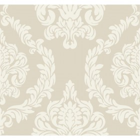Candice Olson Inspired Elegance Aristocrat Cream, Gold, Metallic Wallpaper
