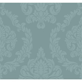 Candice Olson Inspired Elegance Aristocrat Blue/Green, Metallic Wallpaper
