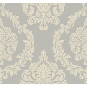 Candice Olson Inspired Elegance Aristocrat Grey, Taupe, Metallic Wallpaper