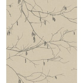 NR1528 Beiges Winter Branches Wallpaper